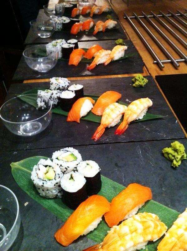 Sushi Showcooking