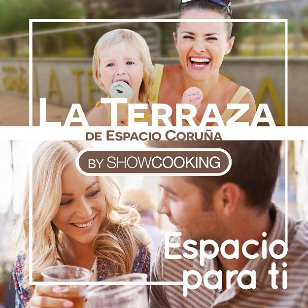 TERRAZA SHOWCOOKING, en C.C ESPACIO CORUÑA