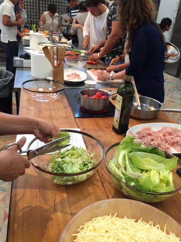 cocina, taller de cocina