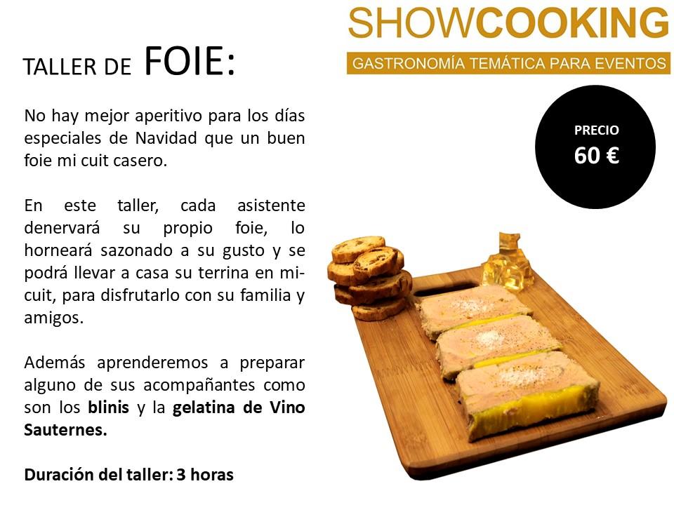cursos de cocina foie