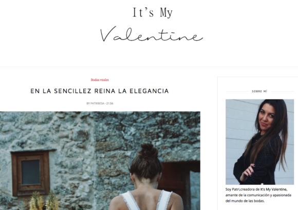 Boda en el Pazo de Atin en Arteixo – It's My Valentine